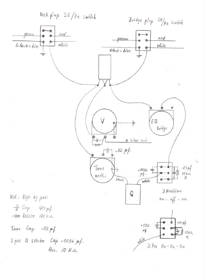Stingray B Wiring Diagram